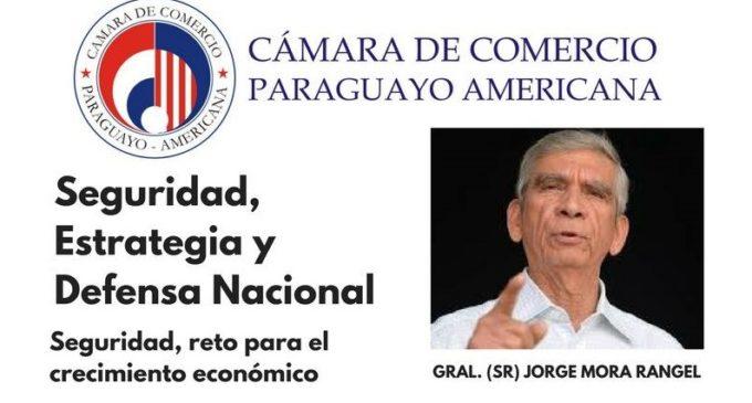 Ex General de las FF.AA de Colombia brindará un conversatorio en Paraguay