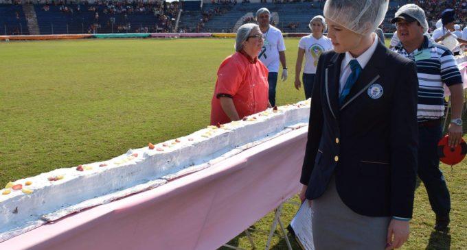 ¡La torta más larga del mundo es Paraguaya!