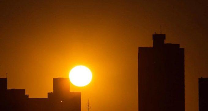 Desde hoy aumento de temperatura en todo el país