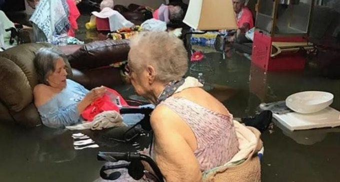 Huracán Harvey: la foto de las ancianas que conmovió EE.UU