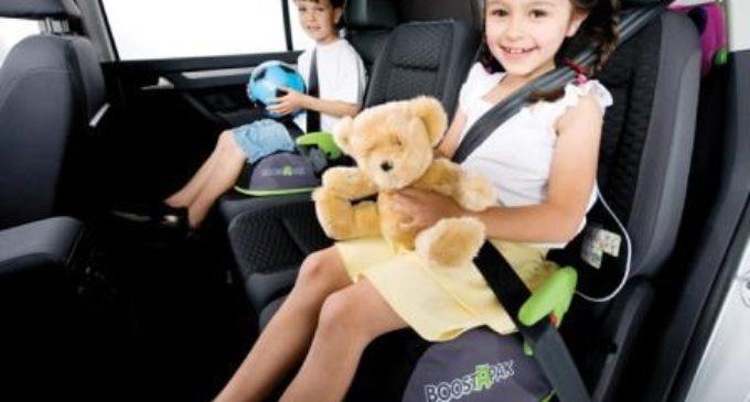 Plantean proyecto que reglamente que menores de hasta 12 años usen asientos especiales de seguridad