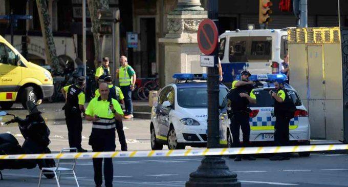 Conmoción, dolor y muerte en Barcelona