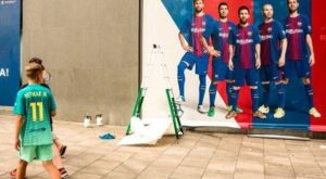 la mejor camiseta del barcelona