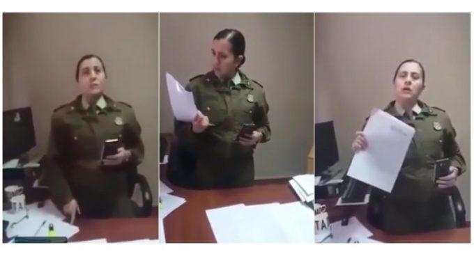 Polémica en Chile: Piden sancionar a carabinera que denunció prohibición de amamantar