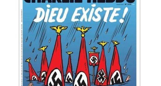 La cruel portada de Charlie Hebdo sobre la tragedia en Texas