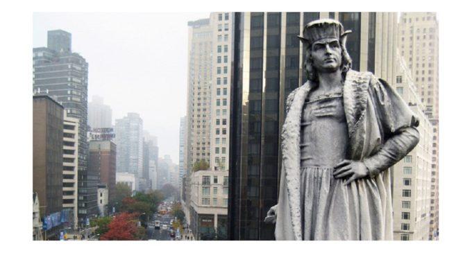 La escalada racista en Estados Unidos salpica a la estatua de Colón en Nueva York