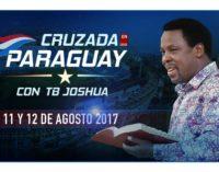 La próxima semana se realizará la Cruzada en Paraguay con TB Joshua