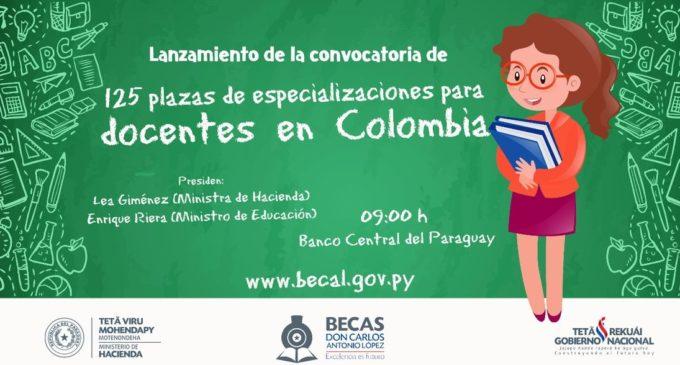 BECAL llama a nueva convocatoria para Capacitación de docentes en Colombia