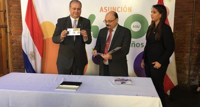 Lanzan estampilla conmemorativa por los 480 años de la Ciudad de Asunción