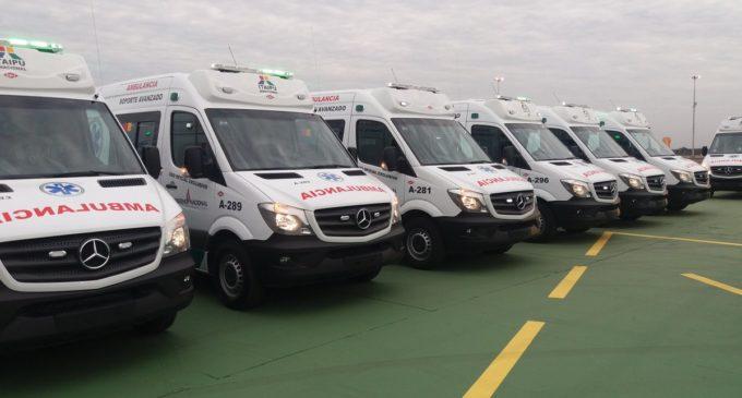25  ambulancias de terapia intensiva fueron entregadas al Ministerio de Salud