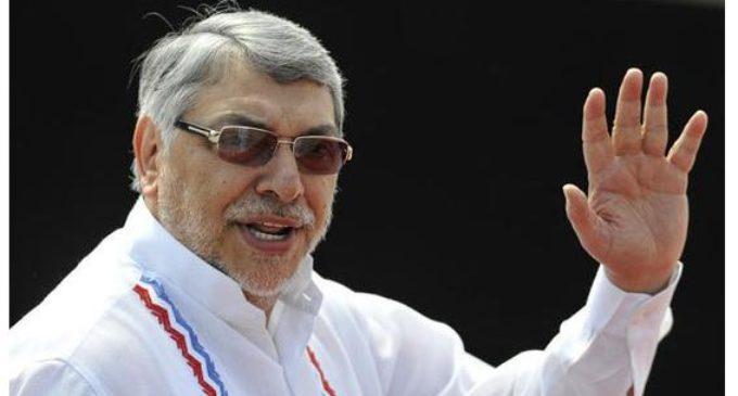 Lugo evita hablar de acusación de Cartes contra Frente Guasu