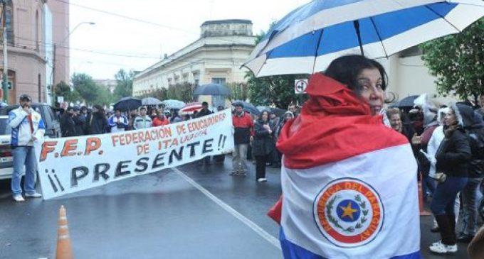 Docentes confirman huelga para el 24 y 25 de agosto