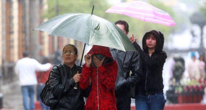 Frente frío con lluvias ingresa al país