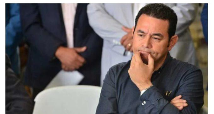 Guatemala: la Fiscalía General pidió retirar la inmunidad al presidente Jimmy Morales
