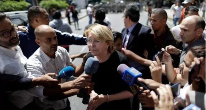 La fiscal general Luisa Ortega llegó a Bogotá tras huir de Venezuela por las amenazas chavistas