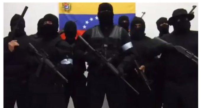 """Más militares rebeldes se unen a la 'Operación David' contra Maduro: """"Respondamos balas con balas"""""""