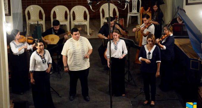Ensamble Paraguay Barroco actuará en Perú