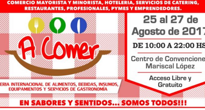"""La Feria """"A Comer"""" llega al Paraguay"""