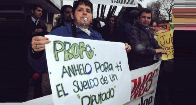 Denuncian estricto control para trabar llegada de docentes a Asunción