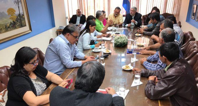 Esta tarde se reúnen organizaciones campesinas con el Ejecutivo