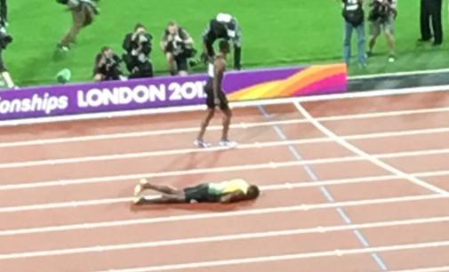 Triste despedida: Los últimos segundos de Usain Bolt en una pista de atletismo