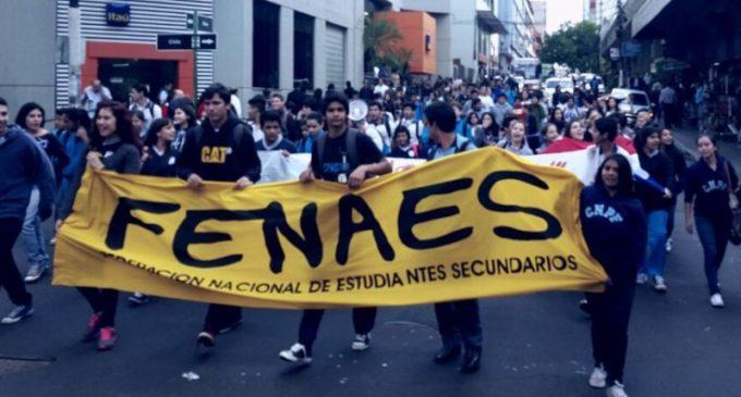 Marcha nacional de colegios públicos y privados