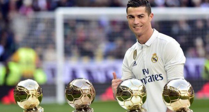 Cristiano Ronaldo ¿ya piensa en su sucesor?