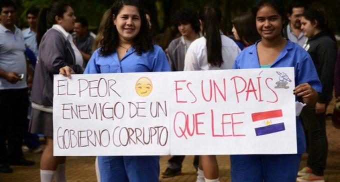 Concentración de estudiantes en San Ignacio