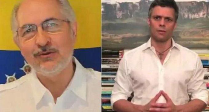 Volvieron a detener a Leopoldo López y Antonio Ledezma