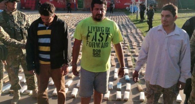 Presidente de Seccional detenido con marihuana en Bolivia