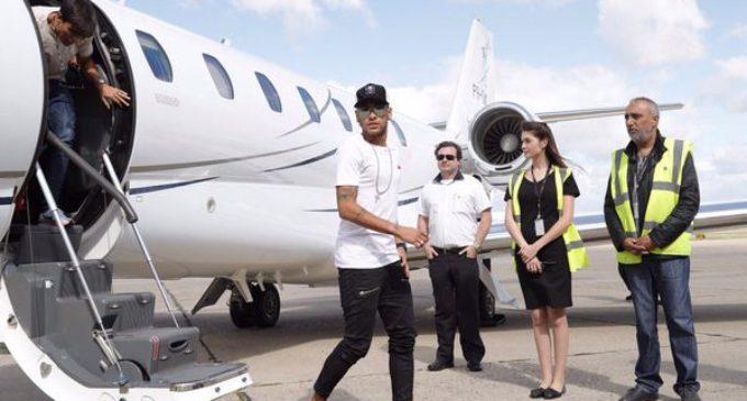 ¡Llegó Neymar!