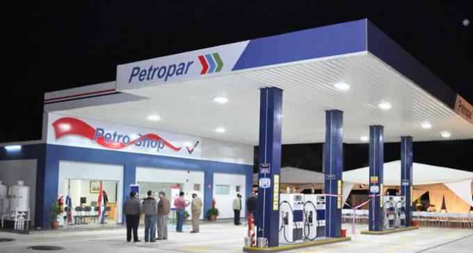 Petropar ya cuenta con 80 estaciones de servicio