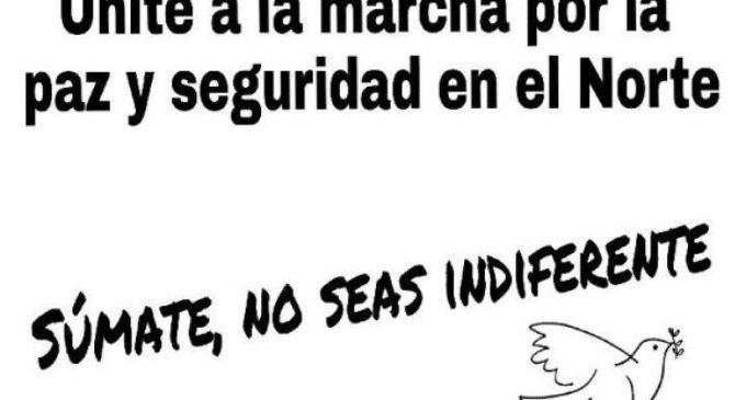 Marcha por la paz en Santa Rosa del Aguaray