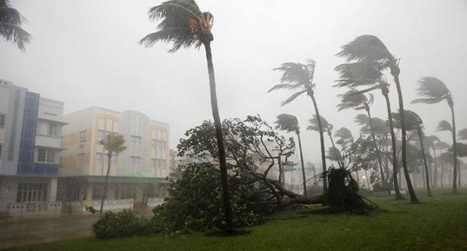 Irma tocó tierra en Estados Unidos