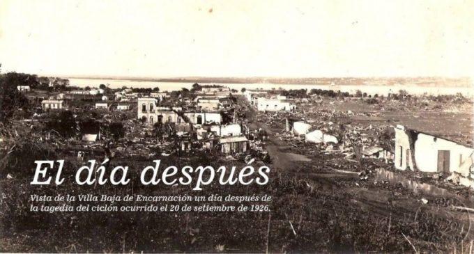 El ciclón que destruyó Encarnación