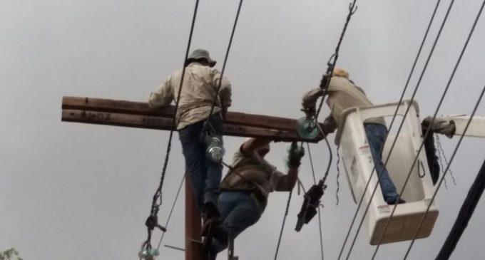 Cerca de 70.000 usuarios fueron afectados por cortes de energía
