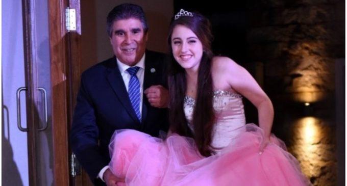 """""""Es un acto de personas nobles"""": Abril, la niña que cumplió 15 años y entró a su fiesta con el papá de la nena que le donó el corazón"""