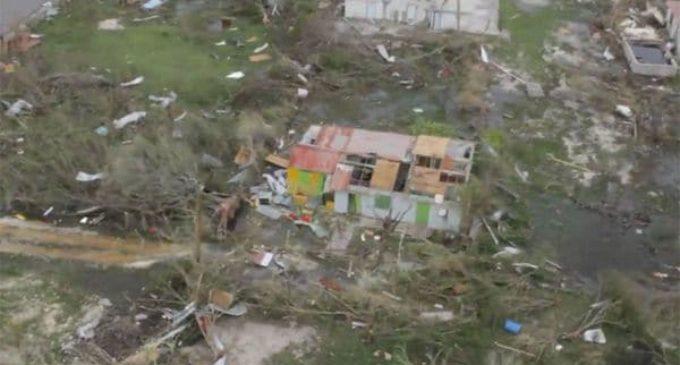 Reportan que el 90% de Antigua y Barbuda quedó destruida tras paso de huracán Irma