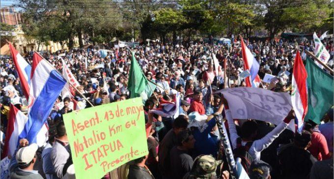 Campesinos reclaman aprobación de Ley de Emergencia de la Agricultura Familiar