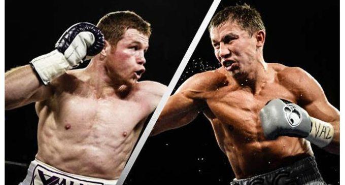"""Tras el """"papelón"""" de Mayweather y McGregor, se viene la verdadera pelea del año: 'Canelo' Álvarez vs. Golovkin"""