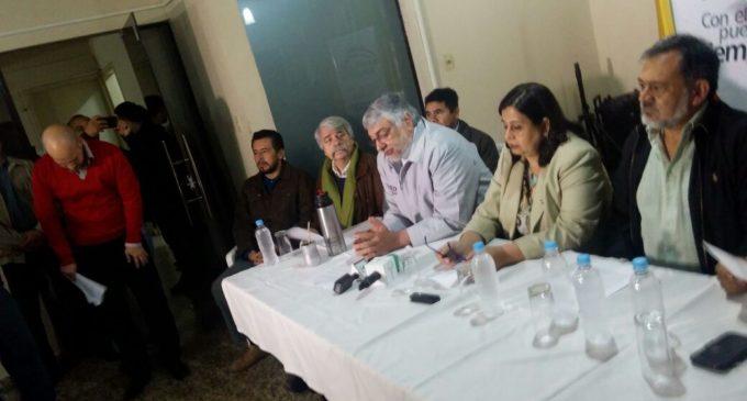 Frente Guasú  presentó línea programática con miras a las elecciones 2018