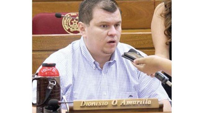 """Diputado Dionisio Amarilla se defiende: """"No tengo nada qué ocultar"""""""