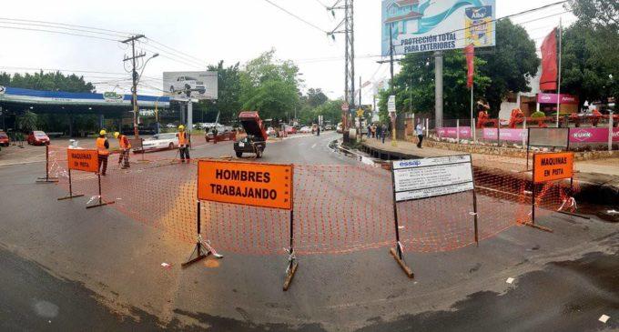 Trabajos de la ESSAP sobre la avenida Mariscal López durarán 15 días