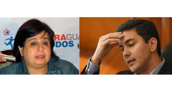 "Esperanza Martínez: ""A Santiago Peña se le cayó la careta"""