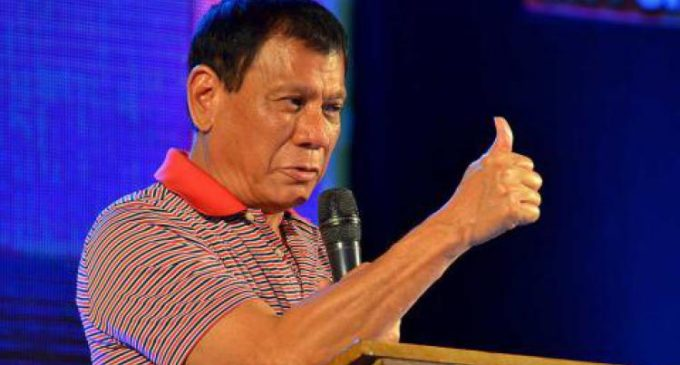 Presidente filipino autoriza matar a su hijo, si se confirma que es narco