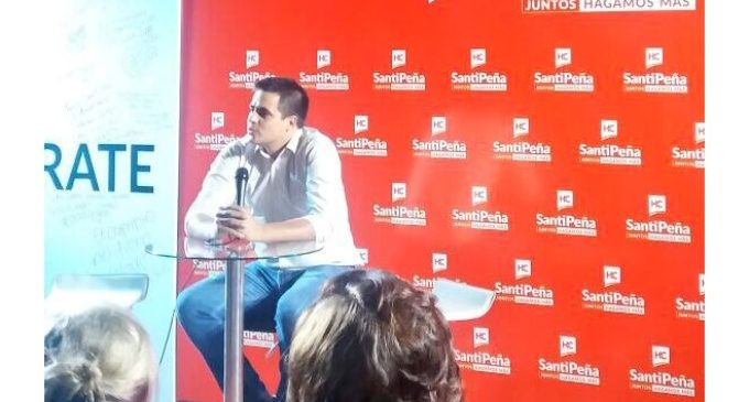 "Federico Mora dice que participó de acto de Santiago Peña ""a título personal, no como coordinador de BECAL"""