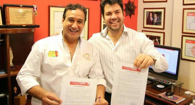 Óscar Tuma demandará a Hugo Javier por abandonar su movimiento