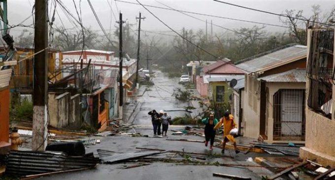 Inundaciones, daños y corte total de energía en Puerto Rico luego del paso del huracán María