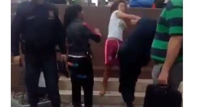 Otra de 'limpiavidrios': subieron a robar en un colectivo y atacaron a dos mujeres