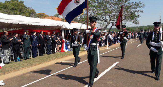 Loma Grande rindió homenaje al Mariscal José Félix Estigarribia